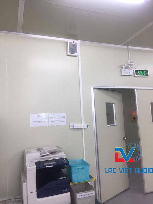 Lắp đặt loa OBT-428 trong văn phòng