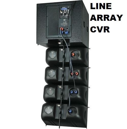 Line array CVR tập trung sản xuất các dòng loa Active