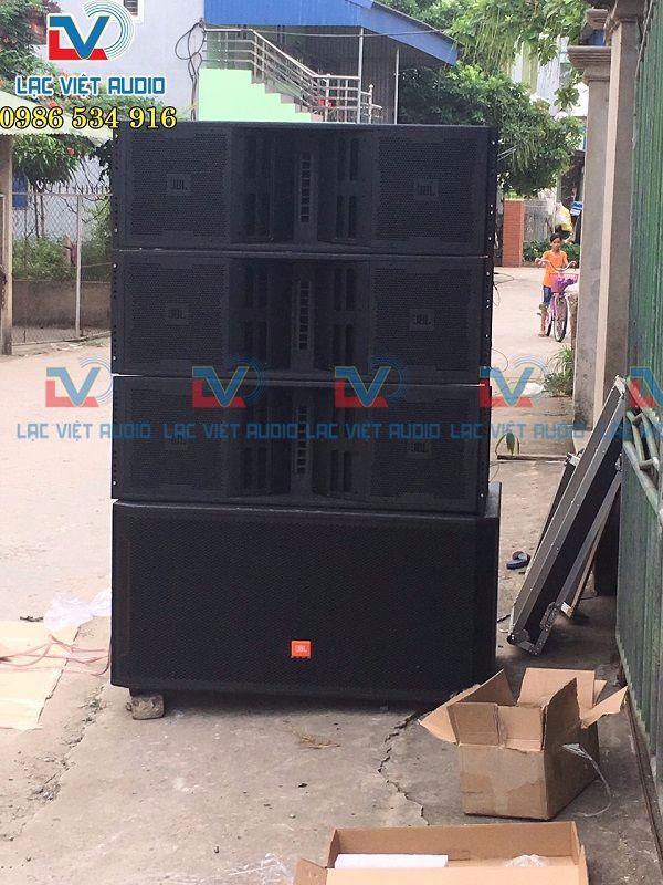 Loa Array VT4888 lắp đặt cho khách hàng Nam Định