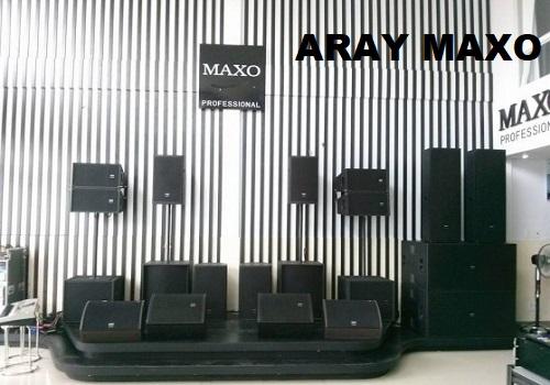 Loa array MAXO