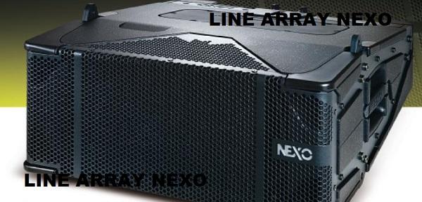 Loa array Nexo chính hãng
