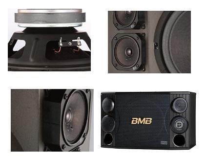 Hình ảnh chi tiết phụ kiện loa BMB CSD2000