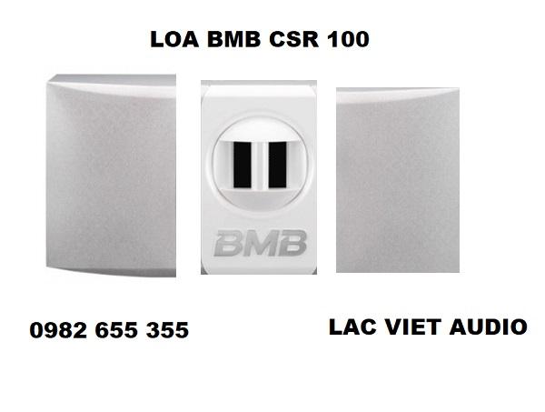 Loa BMB CSR 100 với thiết kế độc đáo và bắt mắt