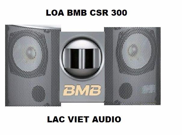 Những bộ phận bên ngoài loa BMB CSR 300