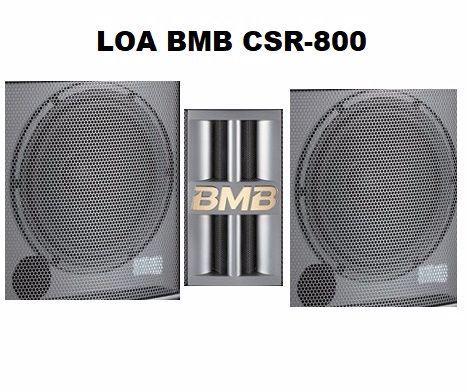 Chi tiết loa BMB CSR 800