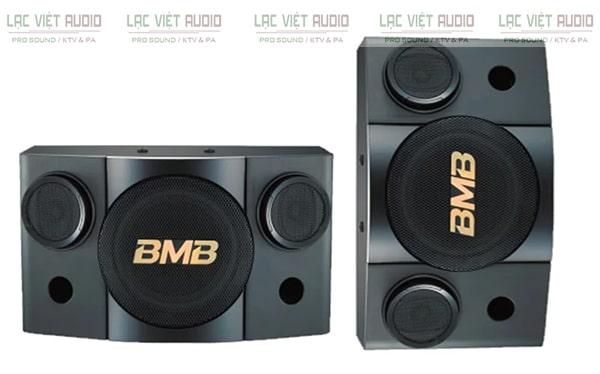 Loa karaoke BMB được đánh giá cao cả về thiết kế kiểu dáng cũng như chất lượng âm thanh