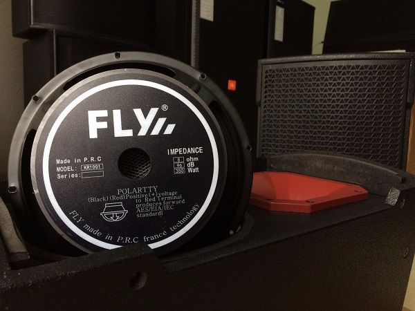 Bass loa FLY KR1001 được chụp lại tại Lạc Việt Audio