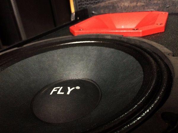 Kết cấu bên trong loa FLY KR1001 chính hãng