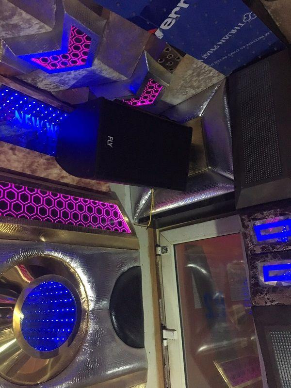 Loa FLY KR1201 được lắp đặt cho phòng hát karaoke kinh doanh