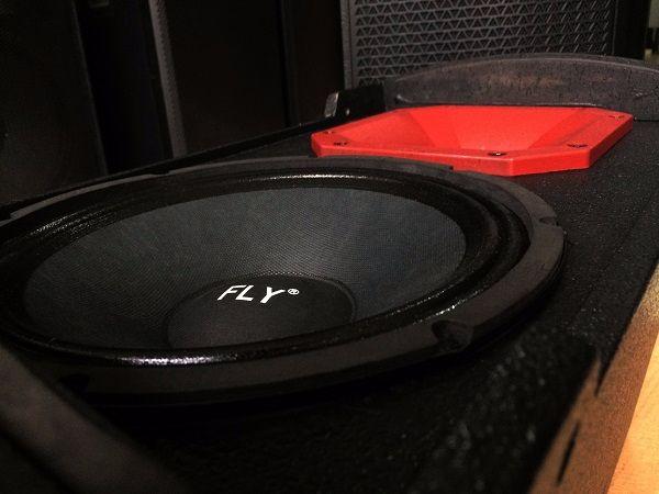 Bass loa và treble loa FLY KR1201 được làm bằng công nghệ cao
