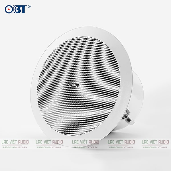 Loa âm trần OBT có thiết kế gọn nhẹ, hiện đại và trang nhã