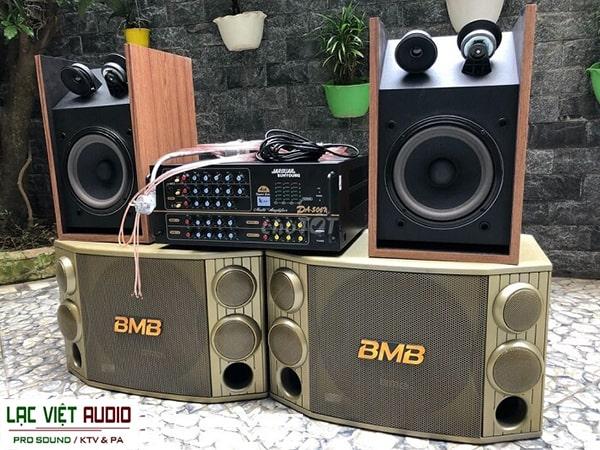 Loa karaoke BMB thiết kế hiện đại và đẹp mắt