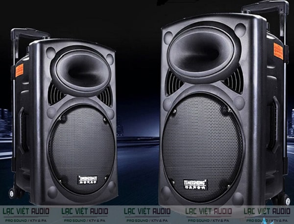 Loa karaoke là thiết bị khuếch đại âm thanh thể hiện được cả 3 dải âm bass, mid và treble vô cùng sống động và chân thực