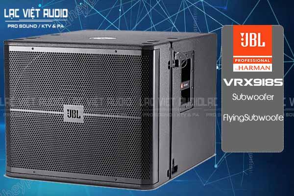 Tính năng sản phẩm Loa JBL VRX918S