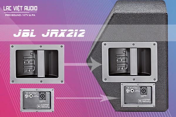 Thiết kế độc đáo, tiện dụng của sản phẩm Loa JBL JRX212
