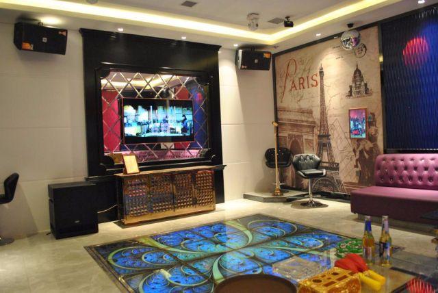 Loa JBL KES8100 được lắp đặt phòng hát karaoke chuyên nghiệp