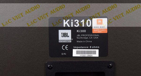 Mặt sau loa JBL KI310