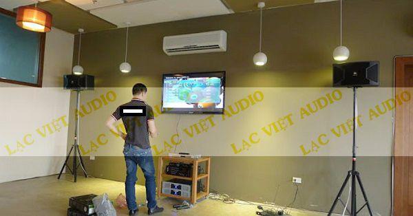 Loa JBK KS310 được Lạc Việt Audio lắp đặt cho khách hàng