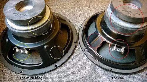 Cách cơ bản để phân biệt loa JBL KS312 nhái và hàng chính hãng
