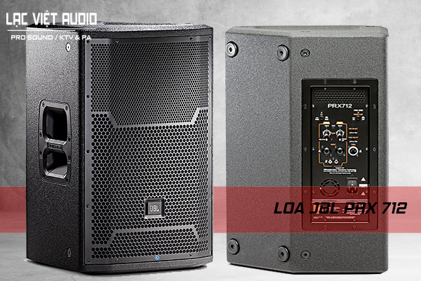 Thiết kế sản phẩm Loa JBL PRX712