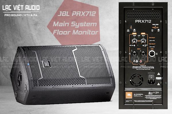 Loa JBL PRX712 có tính năng vượt trội