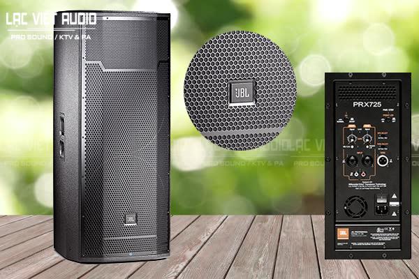 Thiết kế loa JBL PRX725