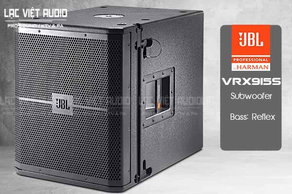 Tính năng sản phẩm Loa JBL VRX915S