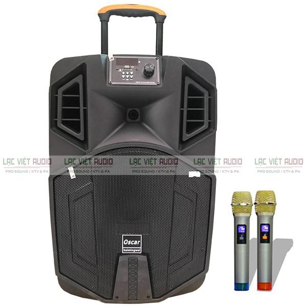 Loa karaoke Oscar được sử dụng phổ biến trong các hệ thống karaoke gia đình và phòng hát kinh doanh chuyên nghiệp.