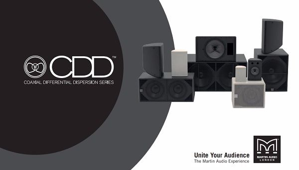 Loa Martin CDD15 thuộc seri CDD Martin Audio