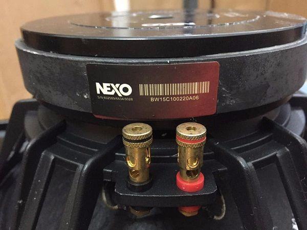 Bass loa Nexo Ps10 được thiết kế cho ra chất lượng âm thanh tuyệt vời