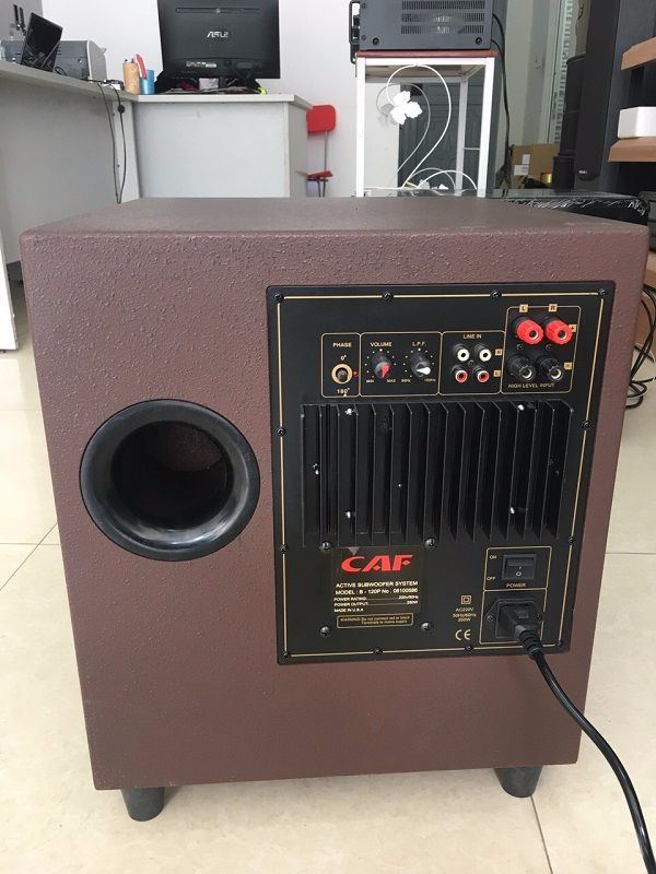 Loa SUB điện CAF 120P hàng bãi tại Lạc Việt Audio