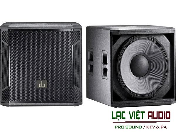 Loa sub đơn Db CTX118S thương hiệu Db Acoustic nổi tiếng