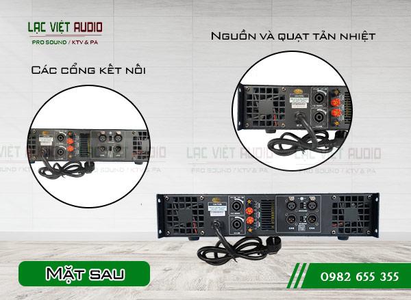 Thiết kế mặt sau Cục đẩy DB TK-1600S