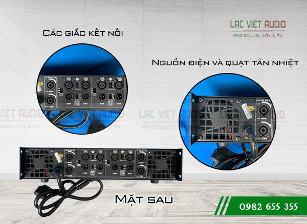 Mặt sau Cục đẩy công suất DB TK4800