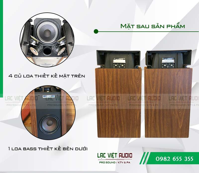Cấu tạo Loa Bose 601 seri II