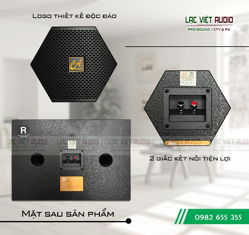 Mặt sau sản phẩm Loa CA Sound K-710