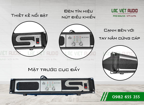 Thiết kế Cục đẩy DB TK-1600S