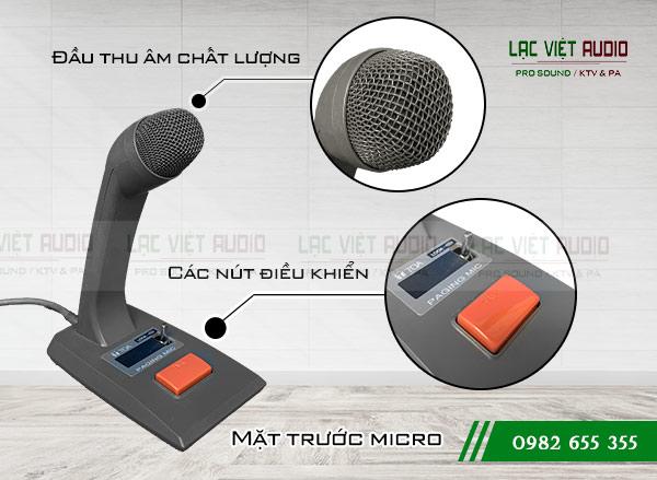 Thiết kế sản phẩm Micro để bàn TOA PM-660D
