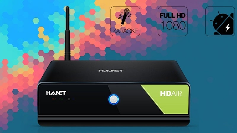 Đầu karaoke Hanet HD Air