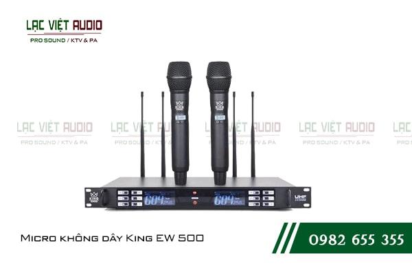 Micro không dây KING EW 200