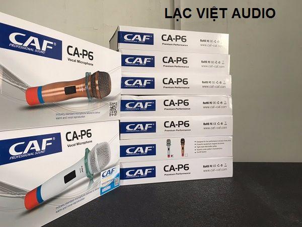 Micro CAF P6 chính hãng tại Lạc Việt Audio