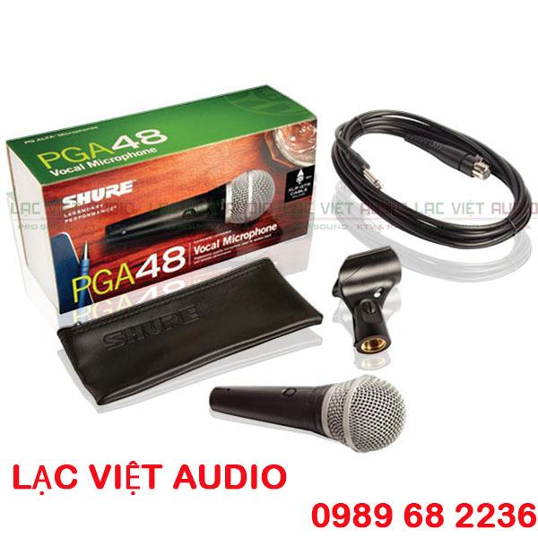 Trọn bộ micro có dây Shure PGA48