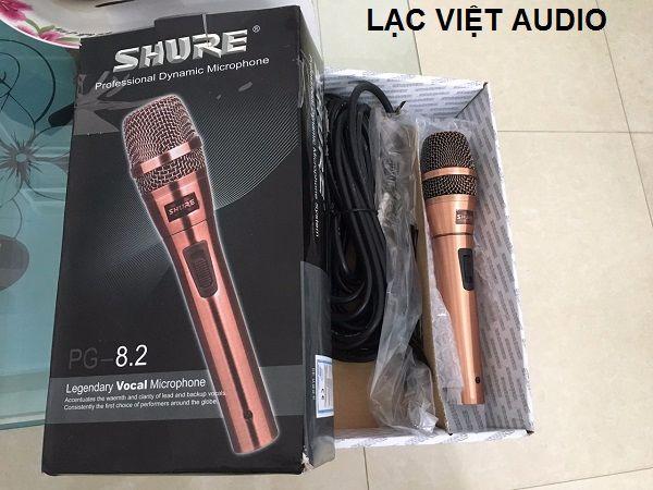 Micro Shure 8.2 chất lượng cao