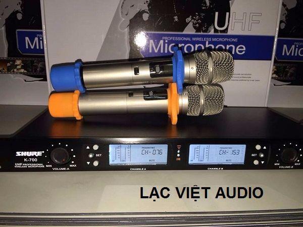 Micro Shure K700 chuyên sử dụng hát karaoke
