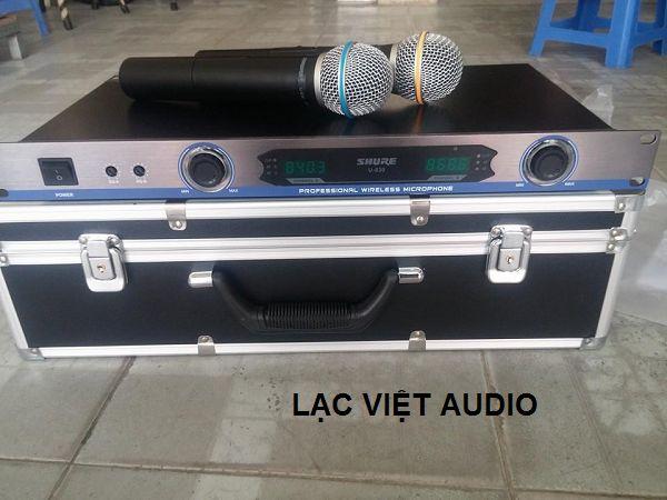 Micro Shure U830 sóng cực khỏe