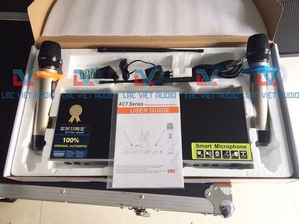 Micro Shure BLX68A Full phụ kiện