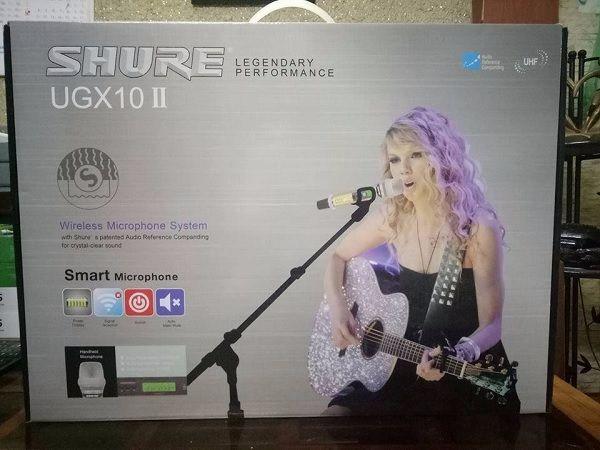 Micro shure UGX10II tại Lạc Việt Audio