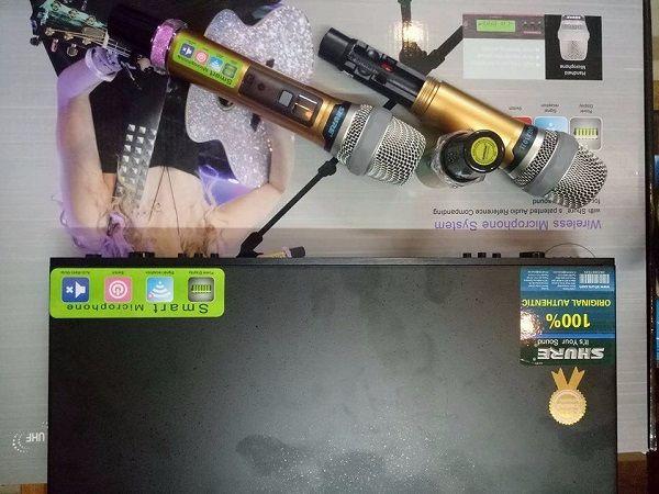 Micro Shure UGX10II thiết kế bắt mắt