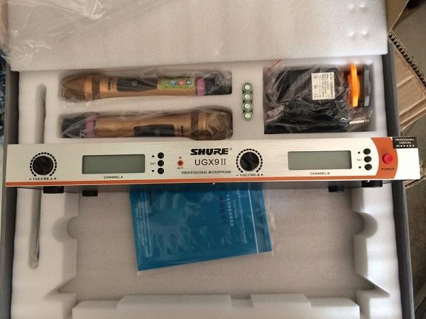 MIcro Shure UGX9II chất lượng cao