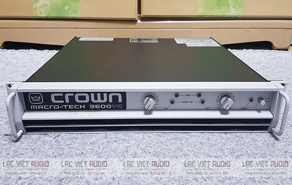 Mua thiết bị cục đẩy công suất Crown chính hãng giá tốt tại Lạc Việt Audio